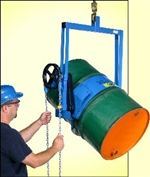 Below-Hook Drum Lifter - Morse Drum Handling Equipment