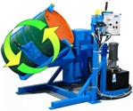 Tilt-To-Load Drum Rotators, drum rotator mixer, manual drum rotator, morse drum rotator, drum tumbler,