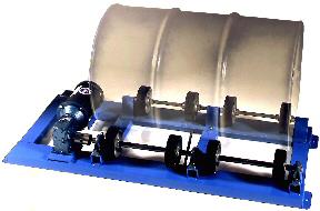 Single Drum Rollers, 55 gallon drum mixers