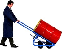 4 Wheel Drum Trucks - Drum Handling, Portable Hand Truck, Drum Hand Truck, 55 gallon drum dolly
