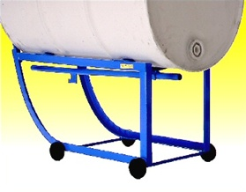 Drum Cradles, Drum Carts, 55 gallon drum cradle, drum cradle for plastic drums, 55 gal drum cart, 55 gallon barrel cart, barrel hand truck, oil drum cart, 55 gallon barrel stand, barrel cart, 55 gallon drum handling equipment near me