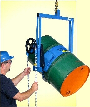 Below Hook Drum Lifter To Lift Amp Pour Morse Drum Handling