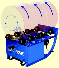 Morse Portable Drum Rollers - 55 Gallon Drum Roller, portable drum mixer, drum mixers, drum rollers, 55 gallon drum rollers, 55 gal drum mixer, drum mixers new jersey, drum mixers near me, portable drum roller, morse portable drum roller
